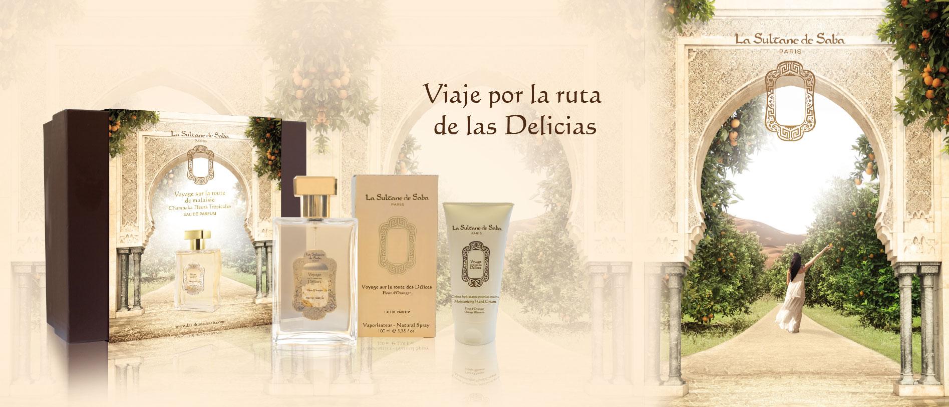 Viaje por la ruta de las Delicias