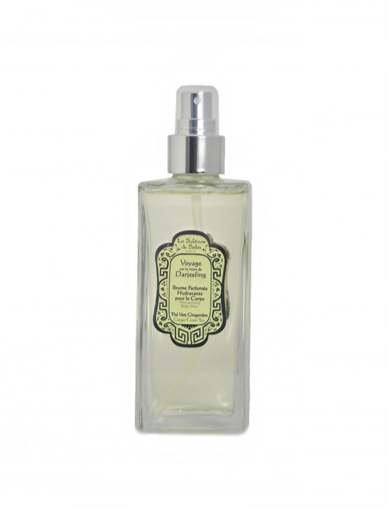 Bruma hidratante de perfume Té Verde y Jengibre