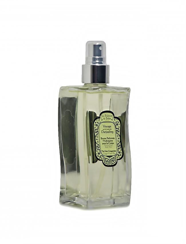 Bruma hidratante de perfume Té Verde y Jengibre La Sultane de Saba
