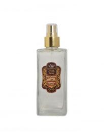 Bruma hidratante de perfume Ámbar, Vainilla y Pachuli