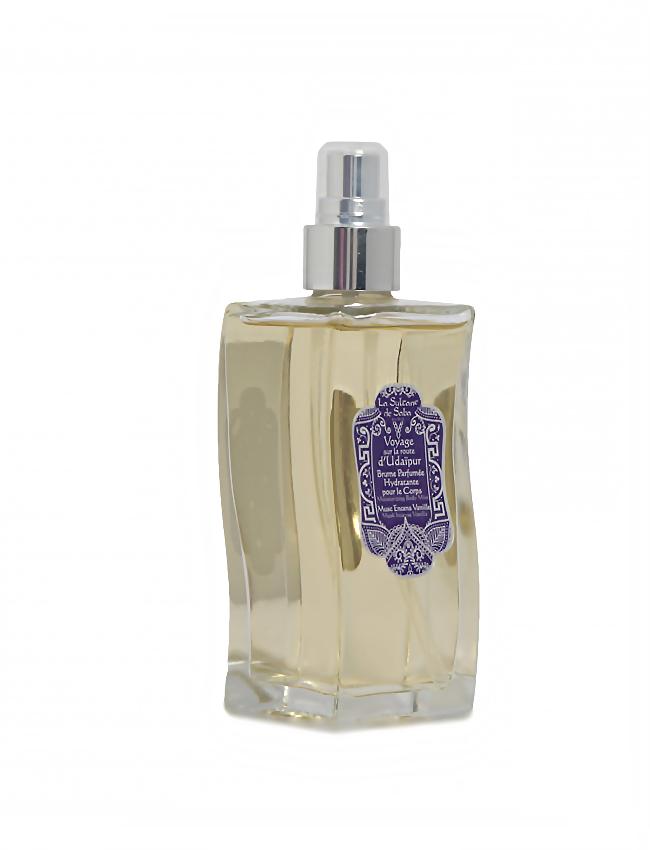 Bruma hidratante de perfume Almizcle, Incienso y Vainilla La Sultane de Saba