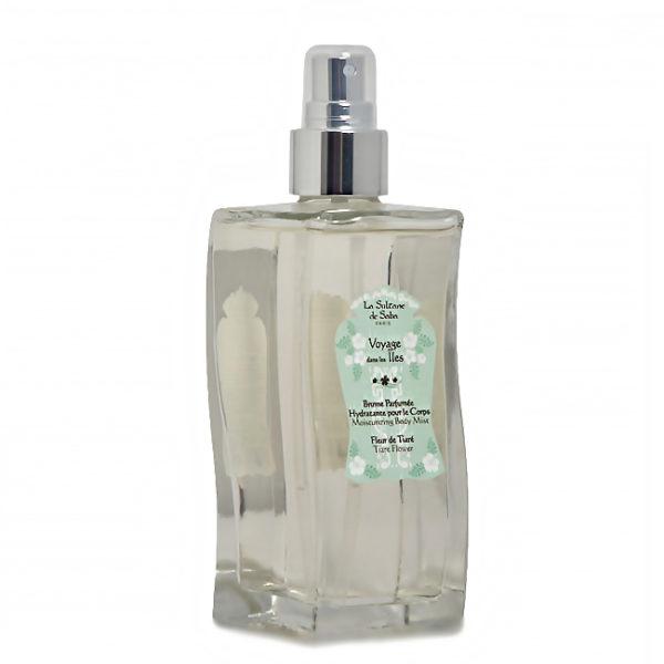 Bruma hidratante de perfume Flor de Tiaré y Aloe Vera La Sultane de Saba