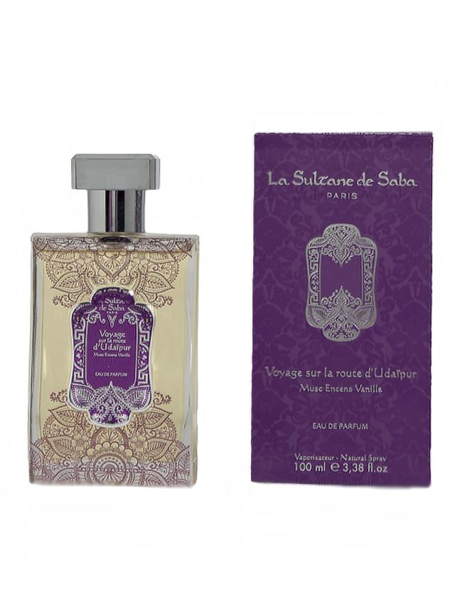 Perfume Francés Almizcle, Incienso y Vainilla