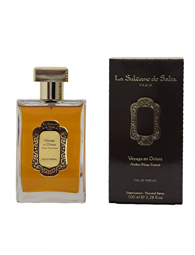 Perfume Francés Ámbar, Almizcle y Sándalo