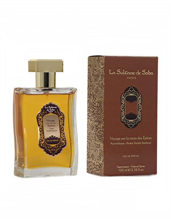 Perfume Francés Ámbar, Vainilla y Pachulí La Sultane de Saba