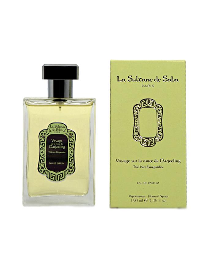 Perfume Francés Té Verde y Jengibre